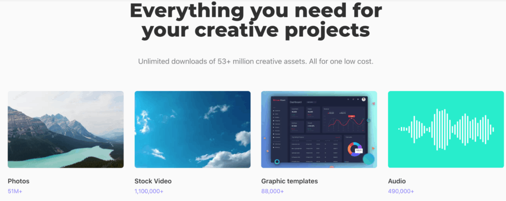 Everything you need for your creative projects