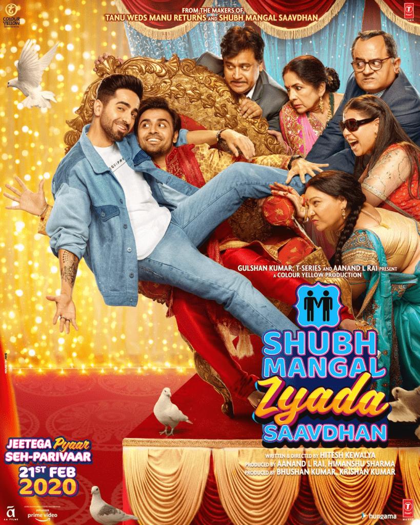 The post for Jitendra's Bollywood Debut: Subh Mangal Zyada Savdhaan