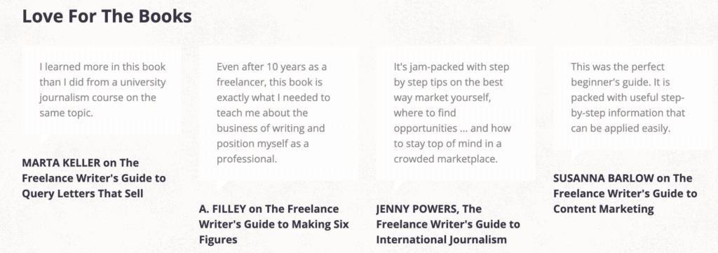 the international freelancer for the love of books