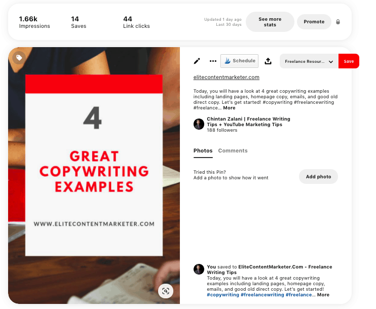 A pinterest board about $ great copywriting examples