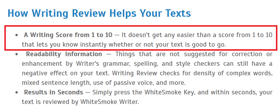 How writing review helps your texts