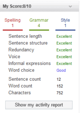 Whitesmoke Grammar Checker Key Features