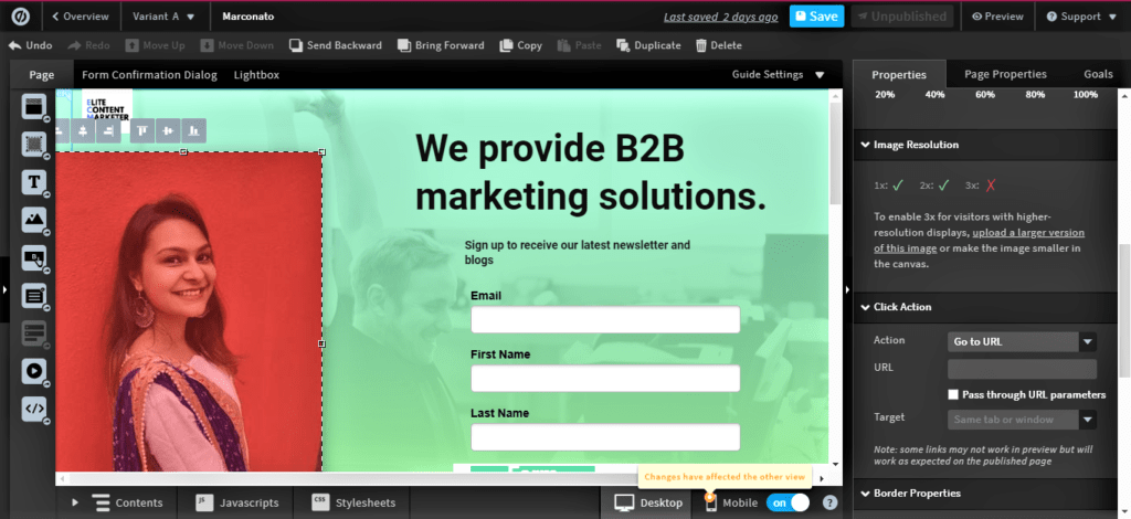 Unbounce For Building Conversational Landing Pages