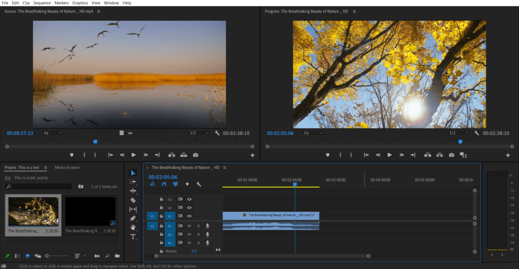 Adobe Premiere Video Editing Software