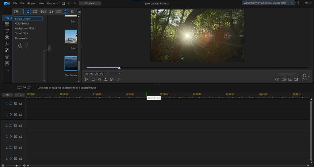 Cyberlink PowerDirector Video Editing Software