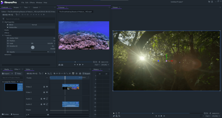 Filmaro Pro Video Editing software