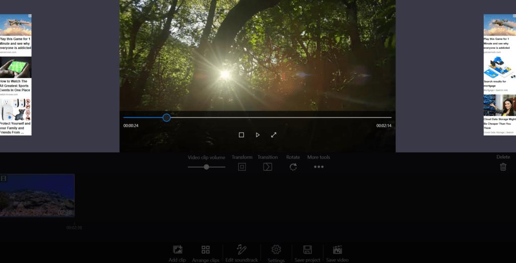 Windows movie maker Video Editing Software