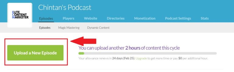 Uploading your podcast on iTunes can be made easier with Buzzsprout