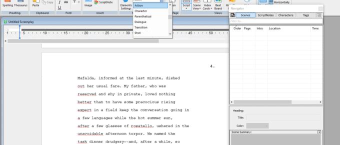 Final Draft Best Screenwriting Software