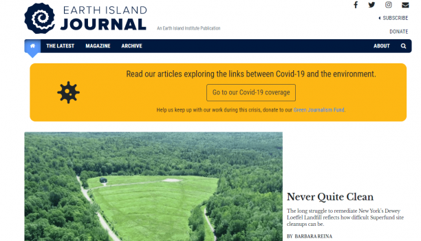 Earth Island Journal is on the lookout for stories and articles on environmental issues affecting the Earth.